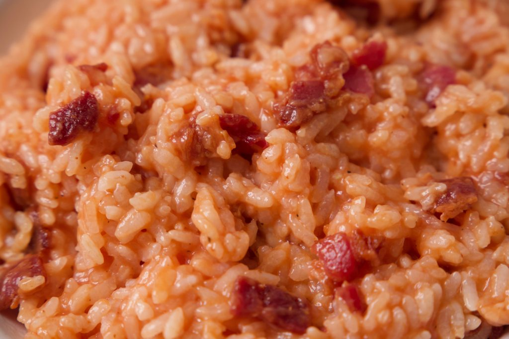 red rice ready to eat