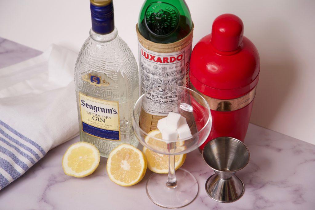 ingredients for afternoon lemonade