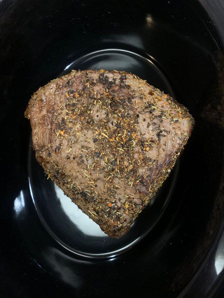 roast in crockpot