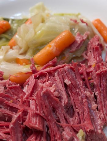 corned beef and cabbage ready to eat