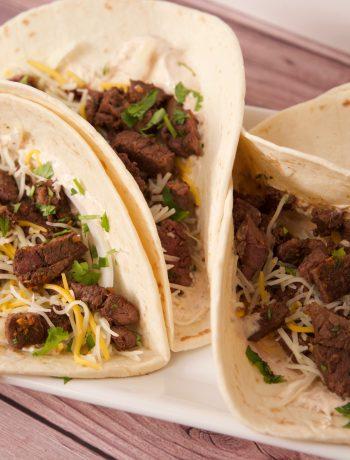 venison burritos ready to eat