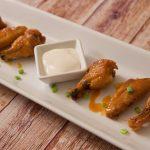 buffalo chicken wings ready to eat