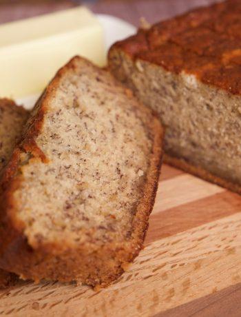 Banana Bread ready to eat