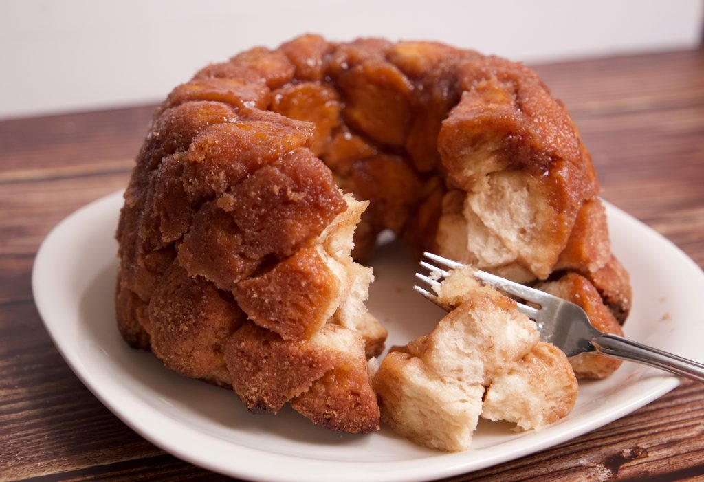 time to eat the monkey bread