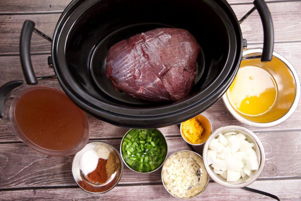 Crock pot venison carnitas ingredients