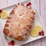 cranberry lemon pound cake