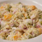 ham orzo salad