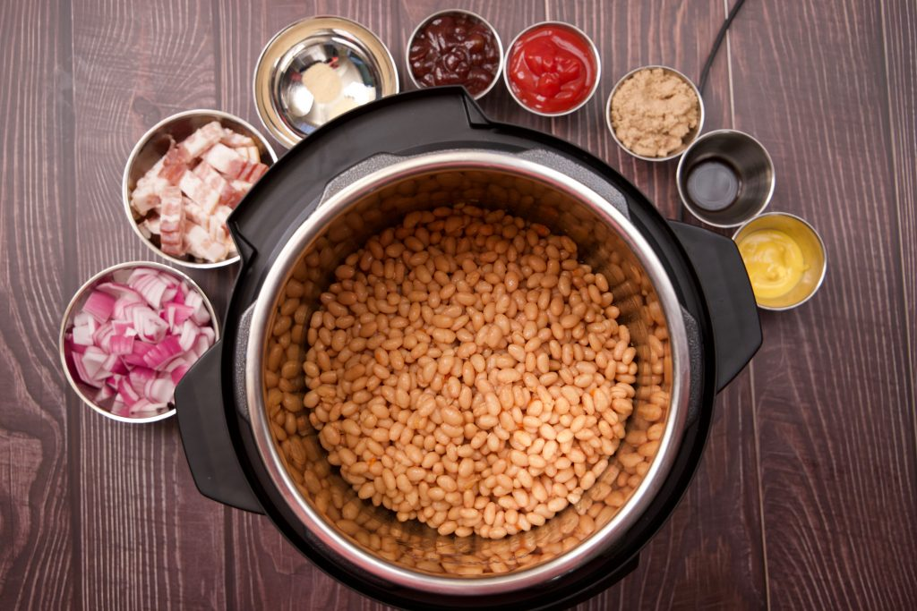 ingredients for bbq beans