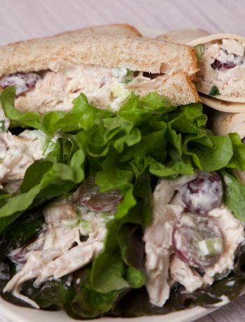 Chicken salad ready to eat