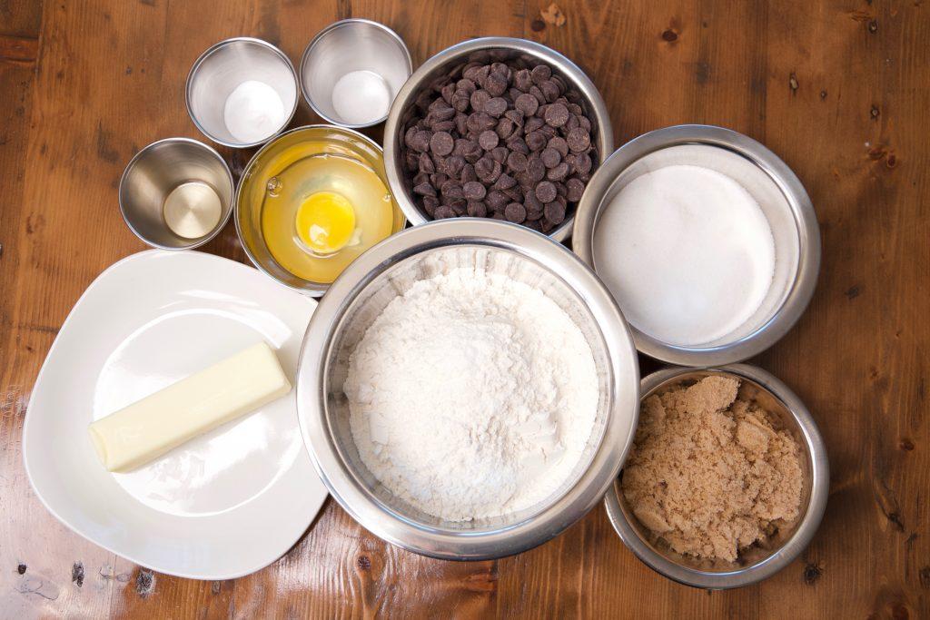 chocolate chip cookie ingredients