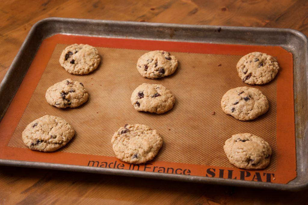 oatmeal cookies baked