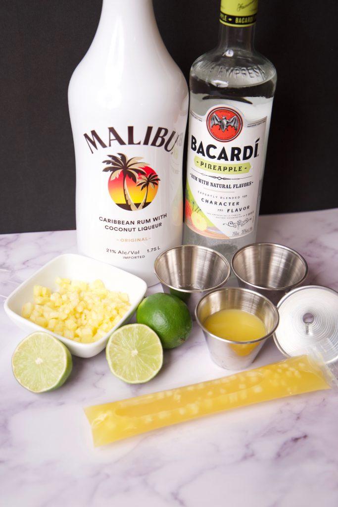 Pineapple Sunrise Ingredients