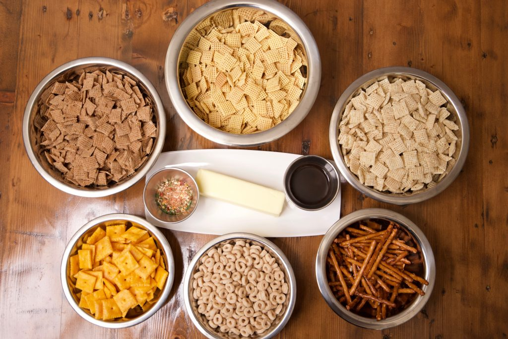 spicy Chex mix ingredients