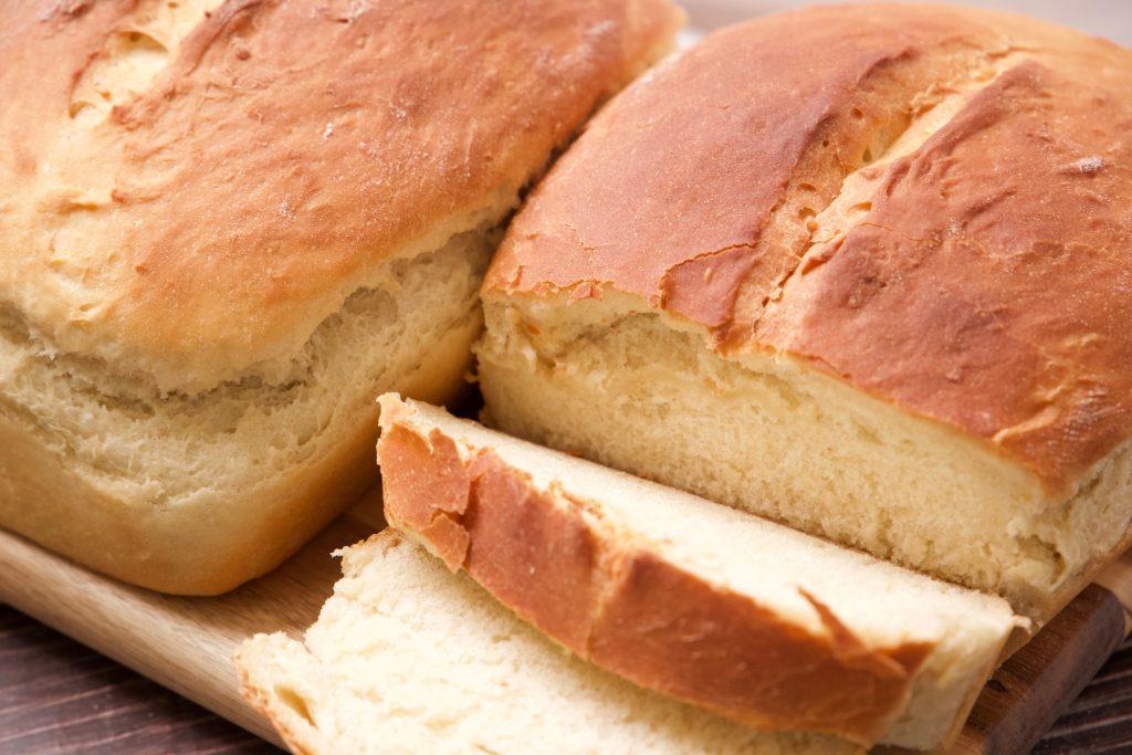 sweet Hawaiian bread sliced