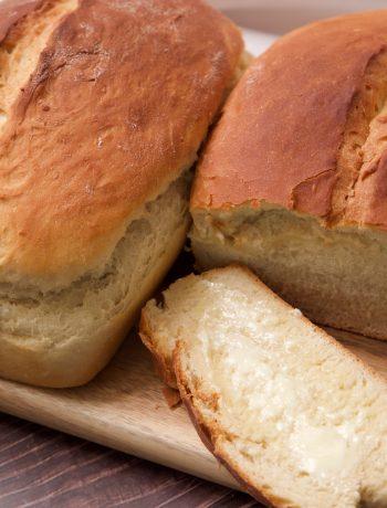 sweet Hawaiian bread buttered