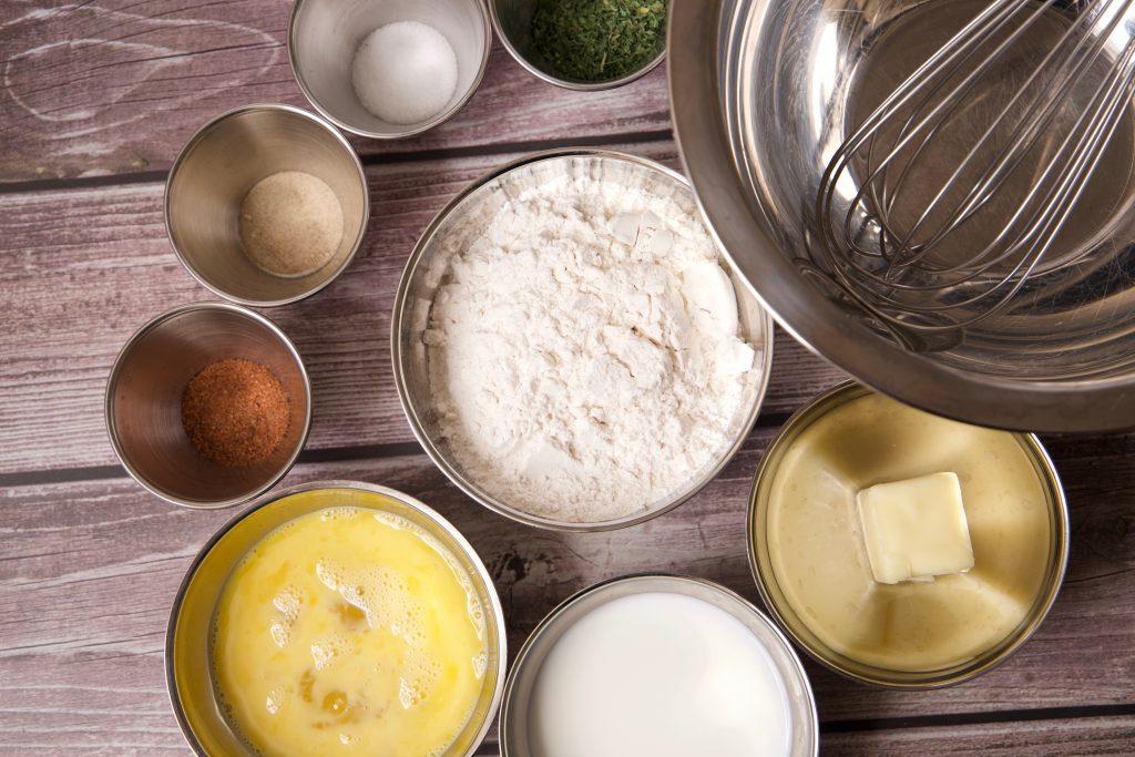 ingredients for spaetzle