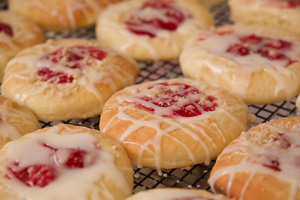 allowing the kolaches to rest